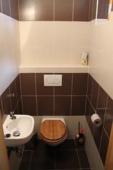 chalupa - wc v přízemí