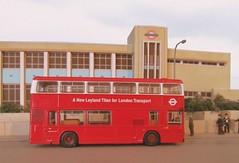 London Transport Leyland Titan T1 (kingsway john) Tags: romford london transport titan t1 leyland 176 scale bus garage londontransportmodel model diorama oo gauge miniature