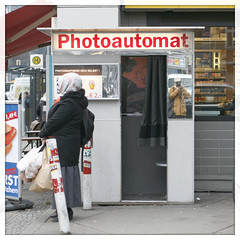 photoautomat (piktorio) Tags: street berlin germany photography mirror object machine neukölln fotoautomat photoautomat nklln piktorio