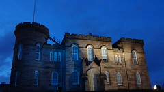 Courthouse Castle (Grant Cranston) Tags: castle history court scotland nighttime inverness