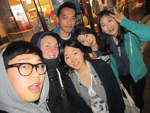 Soirée entre amis, Séoul, Corée du Sud