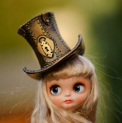 Blythe steampunk top hat