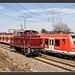 423 658 / V60 663, Halle, 26.März 2010