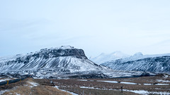 I see the road begin to climb (OR_U) Tags: road winter snow mountains iceland widescreen oru 169 2015