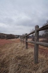 Rock Ledge Ranch 1.31.15 (Dullboy32) Tags: winter cold fence colorado gardenofthegods rail springs coloradosprings co split rockledgeranch splitrailfence dullboy32