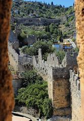 Trkei, Alanya (andreas_kirsten) Tags: canon turkey urlaub trkei hdr alanya citywall stadtmauer canoneos1100d