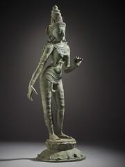 The Hindu Goddess Shridevi LACMA M.70.5.2 (3 of 9) (Fæ) Tags: ca losangeles unitedstates wikimediacommons photographersoliver departmentsouthandsoutheastasianart imagesfromlacmauploadedbyfæ sculpturesfromindiainthelosangelescountymuseumofart lakshmiinsculpture