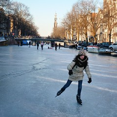 Samantha speed skating to school (Bn) Tags: school winter people cold holland ice hockey netherlands dutch amsterdam kids speed geotagged fun frozen chair topf50 downtown iceskating skating joy kinderen nederland freezing first canals age skate stick prinsengracht anton temperature stoel topf100 mokum occasion rare grachten pleasure skates blades winters stad harsh jordaan 2012 westertoren d66 ijs gluhwein schaatsen koud amsterdamse childern ijspret hendrick bruegel chocolademelk meester grachtengordel hollandse oudhollands 100faves 50faves pieck gekte winterse sferen avercamp ijzers ijsplezier jordanezen ijsnota