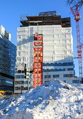 IMG_2536 (kz1000ps) Tags: winter snow boston architecture hospital construction massachusetts womens medical area february brigham longwood lma piles 2015 realestatedevelopment snowpocalypse massmental buildingforthefuture snowiest