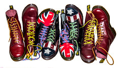 Dr Marten in Color. (CWhatPhotos) Tags: pictures uk original light red usa man men feet leather yellow america that cherry stars jack photography boot foot photo foto with hole boots photos dr stripes union picture 8 style wear have congress mans doctor american footwear fotos worn mens stitching z comfort sole doc limited edition gress cushion marten which soles dm con docs contain compare drmartens bouncing airwair docmartens welt martens dms 1460 drmarten vdm cushioned verus bouncingsoles 1460s yellowstitching cwhatphotos vdmsole