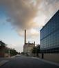 IIT Heating Plant (schromann) Tags: plant chicago brick glass wall university technology curtain institute iit van der mies heating boiler materials metals rohe ziegel 20140619