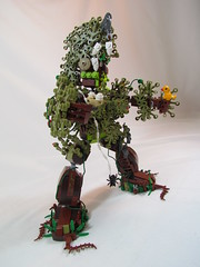 Lumber Jack: Protector of the Forest (Brickadier General) Tags: trees forest lego character foliage build challenge anthropomorphic pennlug