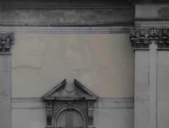 South Facing Wall (kevincardosi) Tags: reflections faces ghostly southfacing creativefaces