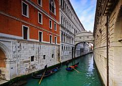 Bridge of Sighs, Venice (charlottebrettphotography) Tags: bridge venice canal gondola sighs