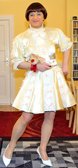 Birgit021998 (Birgit Bach) Tags: dress sissy satin kleid