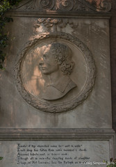John Keats, Rome. 21st May 2016. (craigdouglassimpson) Tags: italy cemeteries rome graveyards monuments poets memorials johnkeats protestantcemetery cimiteroacattolico
