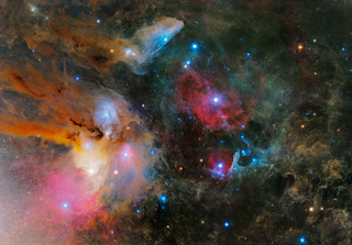 Dust and gas in the Scorpius/Ophiuchus/Libra region