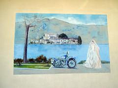 """Legro """"Paese dipinto"""" (frank28883) Tags: piemonte murales lagodorta novara muridipinti ortasangiulio ortalake legro lacdorta paesedipinto pierochiara"""