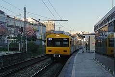 UQE 3254 (Tiago Alves Miranda) Tags: portugal train santos emu sat cp alstom railways gec comboio automotora uqe 3250 emef 3254 caminhodeferro linhadecascais sorefame tiagoalvesmiranda