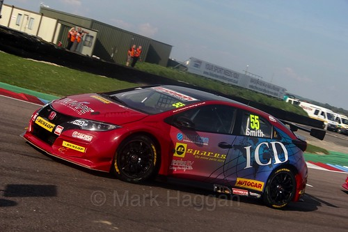 Jeff Smith during the BTCC Weekend at Thruxton, May 2016