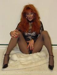 Sexy Red Head (xgirltv1000) Tags: transformation redhead tgirl transgender transvestite makeover trans dragqueen transexual transgendered crossdresser crossdress mtf transformista transwoman