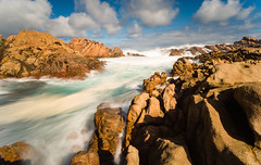 Canal Rocks WA (laurie.g.w) Tags: ocean water coast canal rocks shoreline wave australia western wa
