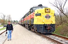 ARRC CVSR Outing: 5 (craigsanders429) Tags: railroadtracks passengertrains passengercars cuyahogavalleyscenicrailroad cvsr6771 cvsrtrains cvsrfpa4no6771 cvsrstations
