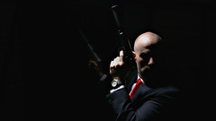 (Donald Palansky Photography) Tags: selfportrait me self sony guns alpha strobe hitman silencer suitandtie alienbees offcameraflash agent47 strobist donaldpalansky