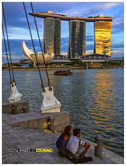 Golden Time @ Marina Bay Singapore (wsboon) Tags: city travel cruise light sky holiday color tourism water architecture clouds composition buildings relax corporate design photo google search singapore asia exposure cityscape view nocturnal skyscrapers heart perspective visit tourist calm explore photograph land destination serene cbd pimp nocturne dri singapura centralbusinessdistrict blending singaporecityscape goldentime masteratwork uniquelysingapore singaporecity peopleculture olympusdigitalcamera singaporecruise singaporelandscape marinabaysingapore singaporetouristattractions olympusep5 nocommentsimplyperfectsingaporeview singaporefamouslandmarks lumixgvario1232f3556