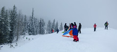 busy day (dolanh) Tags: winter snow whiteriver sledding mthoodwilderness whiteriversnopark
