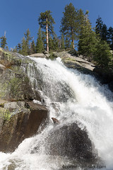 Trees and South Fork Tuolumne River Cascades, Yosemite National Park (4 Corners Photo) Tags: california sky mountains color tree water rural forest landscape us waterfall spring scenery unitedstates boulder yosemite northamerica yosemitenationalpark sierranevada cascade tuolumneriver tuolumnecounty 4cornersphoto