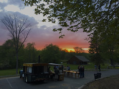 IMG_3932 (newspaper_guy Mike Orazzi) Tags: sunset sky clouds truck evening pizza watertown photostream iphone 5s campership ymcacampmataucha