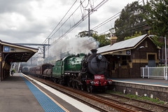"2016-06-13 Transport Heritage NSW 3642 Erskineville 6S73 (Dean ""O305"" Jones) Tags: heritage expo suburban au transport rail australia class steam shuttle nsw newsouthwales legend musem c36 erskineville 3642 6s73"