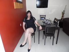 MAYELITA CROSSDRESS OLD PIC 2013 (MAYELITA CROSSDRESS) Tags: black beauty dress crossdressing heels crossdresser crossdress ladyboy zapatillas calzado feminization beatifull minifalda zaptillas minicdress