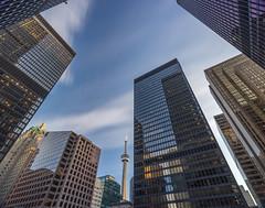Toronto Skyscrapers (urbanexpl0rer) Tags: windows toronto ontario canada architecture buildings skyscrapers lookup financialdistrict offices