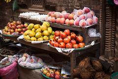 Fruit Stand (Mark S Weaver) Tags: kathmandu nepa