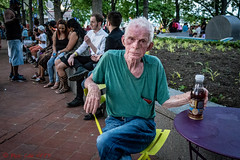 Tea and Me (ViewFromTheStreet) Tags: park street man male guy classic philadelphia table photography calle amazing chair eyecontact sad tea pennsylvania candid streetphotography oldman jeans spruce blick pennslanding allrightsreserved sprucestreet viewfromthestreet stphotographia vftsviewfromthestreet blickcalle candideyecontact sprucestreetharborpark copyright2016 copyright2016blickcalle blickcallevfts blickcallevfts
