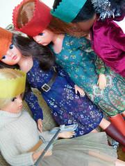 Sindy's Christmas Day - 26 (misssindy) Tags: christmas doll dolls marx 16 gayle diorama pedigree sindy