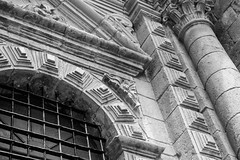 IMG_4435 (monique.timlick) Tags: cusco peru buildings architecture brick old vintage weathered bluesky clouds bright colourful canon city historical texture blackandwhite bw stonework southamerica