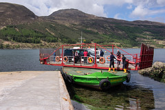 Glenachulish last operatikon Manual turntable car ferry running from Glenelg to Kylerhea on Skye (searnold2011) Tags: scotland unitedkingdom events gb glenelg glenelgmay2016
