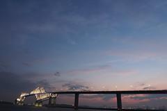 P6260244 (Zengame) Tags: bridge japan architecture night pen tokyo illumination landmark olympus illuminated cc jp creativecommons   zuiko   penf    wakasu   mzuiko  tokyogatebridge 12mmf20 mzuikodigitaled12mmf20