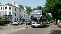 Scouse Surrey visitor (bobsmithgl100) Tags: bus surrey alexander dennis londonroad virginiawater onj 10543 stagecoachmerseyside sn16 enviro400mmc sn16onj wentworthpgagolfshuttle