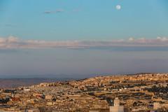 Fs (joepar64) Tags: sunset moon morocco fs