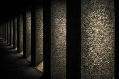 Shadowy Entryways (pillarsoflight) Tags: city light brown texture apple beauty yellow oregon 35mm portland prime aperture nikon pattern imac adobe pacificnorthwest pdx pnw entry sandisk lightroom entryways crop apsc d3300 sensor shotonsandisk