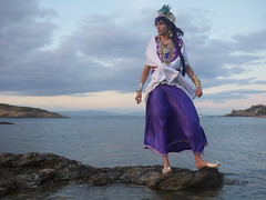 Shooting Sinbad - Magi, the Labyrinth of Magic - Giens - 2016-06-03- P1410894 (styeb) Tags: shooting sinbad magithelabyrinthofmagic giens presquile 2016 juin 03 mer tombee nuit madrague reserve naturelle