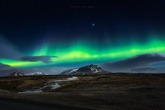 The Green Lady (Mark McLeod 80) Tags: iceland bravo aurora auroraborealis 2016 markmcleod markmcleodphotography blondious