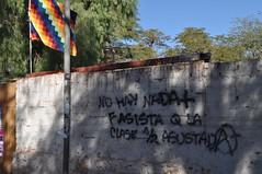 Y  desapareci el mar (Heimlich el sudaca patagnico) Tags: graffiti bolivia pinta sanpedrodeatacama heimlich klassenkampf classstruggle luchadeclases