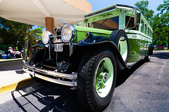 1930 Buick chassis Flixible bus (hz536n/George Thomas) Tags: summer copyright canada bus canon buick michigan canadian canon5d flint carshow 2016 flixible ef1740mmf4lusm cs5 sloanmuseum sloanmuseumautofair