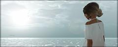 [when I let go of what I am, I become what I might be. when I let go of what I have, I receive what I need  ] (Charlie Namiboo) Tags: secondlife charlienamiboo letitgo beach sea ocean piano yanntiersen frisland