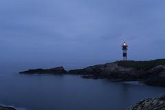 Despertar en Isla Pancha (CeliaQuintillan) Tags: ocean lighthouse landscape faro amanecer lugo faros ribadeo islapancha illapancha